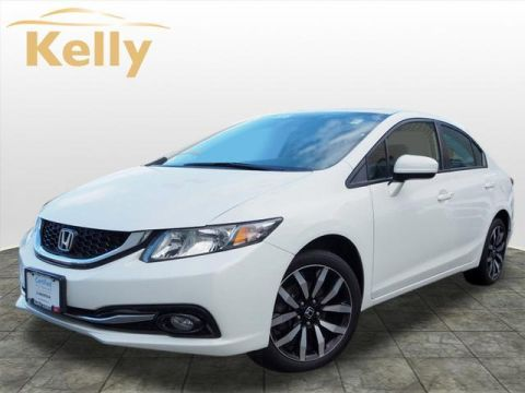 Certified Pre-Owned 2015 Honda Civic 4dr CVT EX-L w/Navi