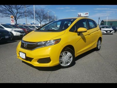 Certified Pre-Owned 2018 Honda Fit LX CVT